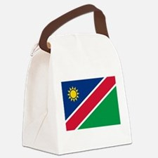 Flag of Namibia Canvas Lunch Bag
