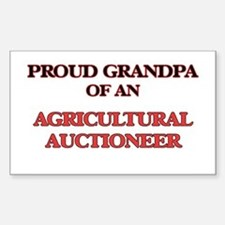 Proud Grandpa of a Agricultural Auctioneer Decal