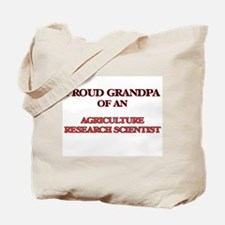Proud Grandpa of a Agriculture Research S Tote Bag