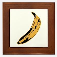 Velvet Underground Banana Framed Tile