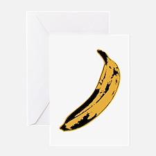 Velvet Underground Banana Greeting Cards