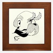 Otto von bismarck Framed Tile