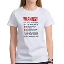 Women's Warning T-Shirt