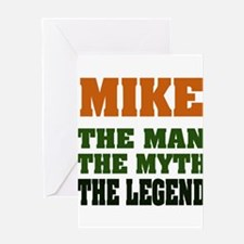 MIKE - The Lengend Greeting Cards