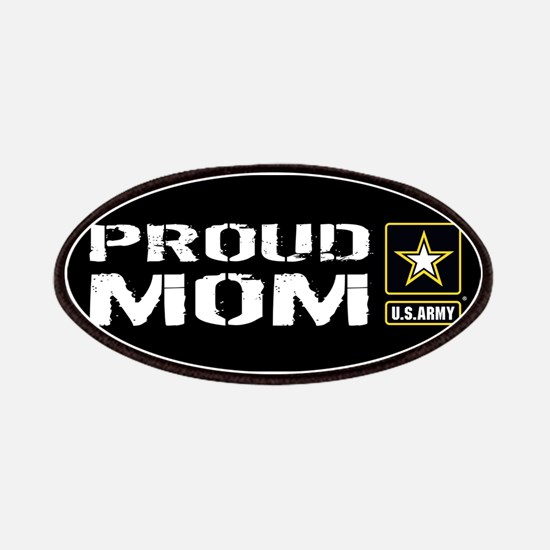 U.S. Army: Proud Mom (Black) Patch