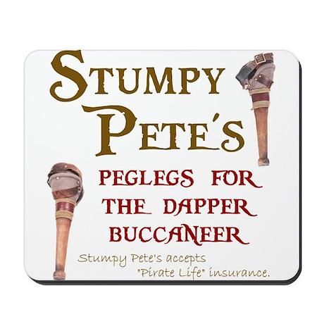 Stumpy Pete's Peglegs Mousepad