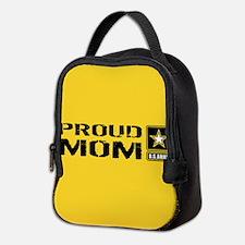 U.S. Army: Proud Mom (Gold) Neoprene Lunch Bag