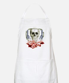Pistols, death and roses BBQ Apron