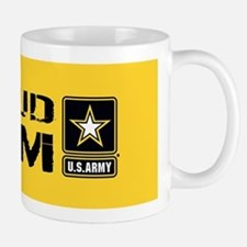 U.S. Army: Proud Mom (Gold) Mug