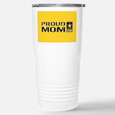 U.S. Army: Proud Mom (G Stainless Steel Travel Mug