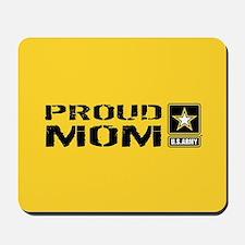 U.S. Army: Proud Mom (Gold) Mousepad
