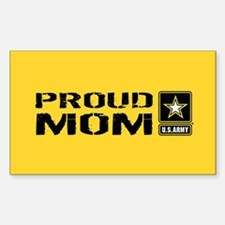 U.S. Army: Proud Mom (Gold) Decal