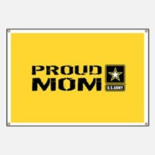 U.S. Army: Proud Mom (Gold) Banner
