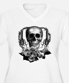 Pistols, death and roses T-Shirt
