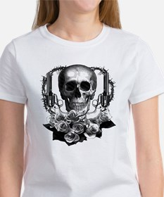 Pistols, death and roses Tee