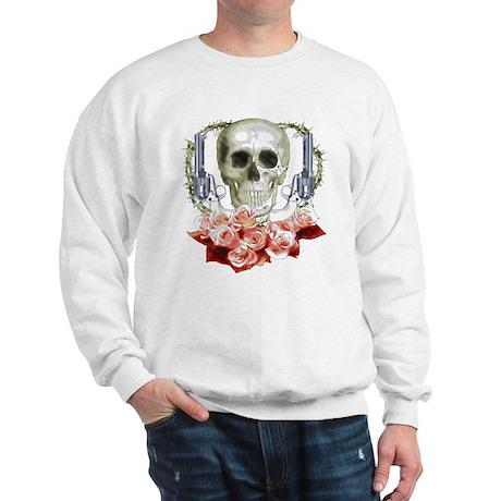 Pistols, death and roses Sweatshirt