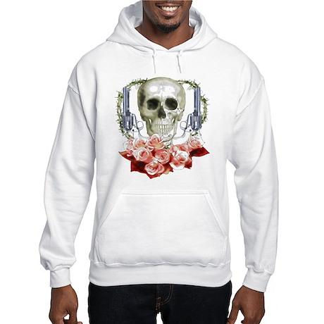 Pistols, death and roses Hooded Sweatshirt