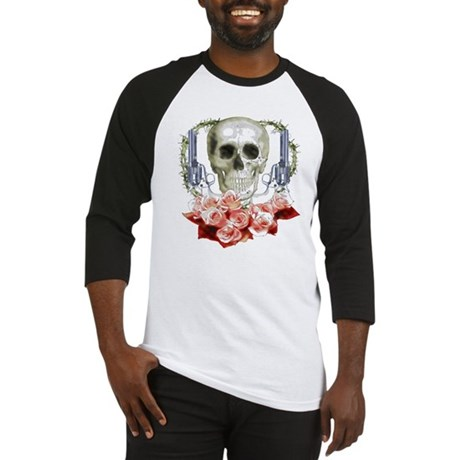Pistols, death and roses Baseball Jersey