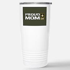 U.S. Army: Proud Mom (M Stainless Steel Travel Mug