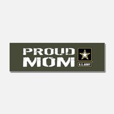 U.S. Army: Proud Mom (Military G Car Magnet 10 x 3