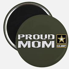 "U.S. Army: Proud Mom (Milit 2.25"" Magnet (10 pack)"