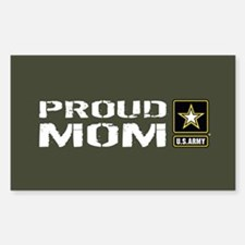 U.S. Army: Proud Mom (Military Decal