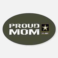 U.S. Army: Proud Mom (Military Gree Decal
