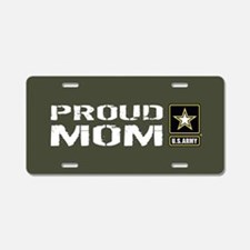 U.S. Army: Proud Mom (Milit Aluminum License Plate