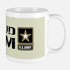 U.S. Army: Proud Mom (Sand) Mug