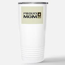 U.S. Army: Proud Mom (S Stainless Steel Travel Mug