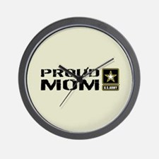U.S. Army: Proud Mom (Sand) Wall Clock
