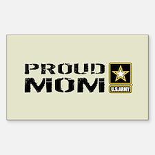 U.S. Army: Proud Mom (Sand) Decal