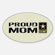 U.S. Army: Proud Mom (Sand) Decal