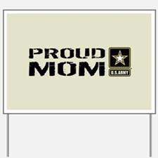 U.S. Army: Proud Mom (Sand) Yard Sign