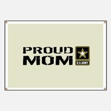U.S. Army: Proud Mom (Sand) Banner