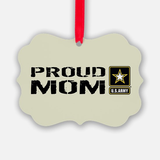 U.S. Army: Proud Mom (Sand) Ornament