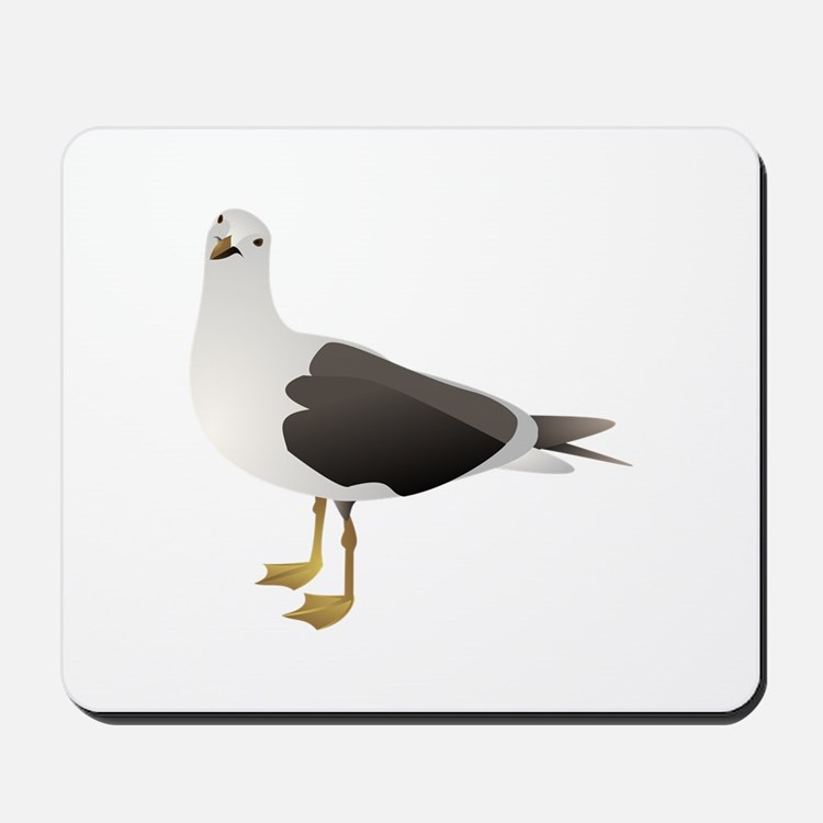 Sea gull Mousepad
