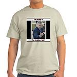 Anti-Bush: The Darling of the Ash Grey T-Shirt