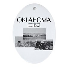 ABH Oklahoma Ornament (Oval)