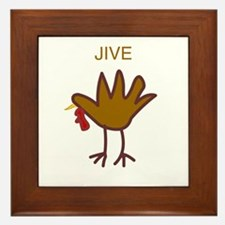 Cute Humor Framed Tile