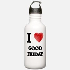 Cute Good friday Water Bottle