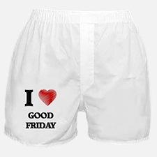 Funny Good friday Boxer Shorts