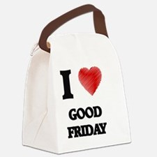 Funny Good friday Canvas Lunch Bag