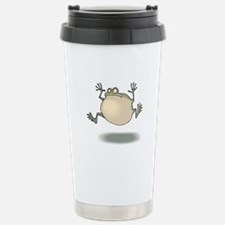 Frog Croaking Travel Mug
