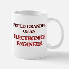 Proud Grandpa of a Electronics Engineer Mugs
