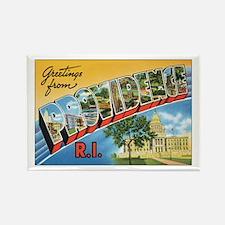 Providence RI Postcard Rectangle Magnet