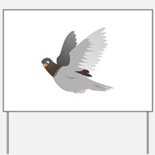 A Flying Pigeon Yard Sign