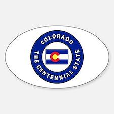 Unique Coloradoan Sticker (Oval)