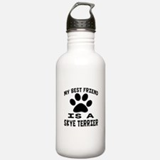 Skye Terrier Is My Bes Sports Water Bottle