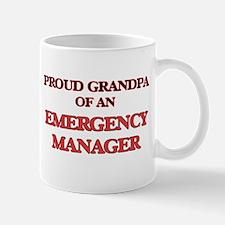Proud Grandpa of a Emergency Manager Mugs